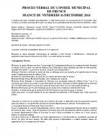 COMPTE RENDU 16 DEC 16