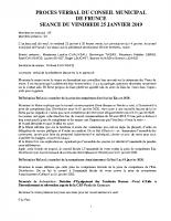 2019-01-25 CR du 25 JANVIER
