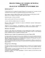 2019-11-29 CR du 29