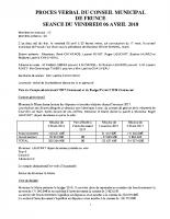 COMPTE-RENDU 2018-04-06