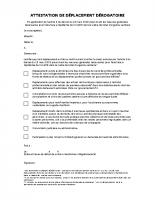 attestation-deplacement du 25 mars